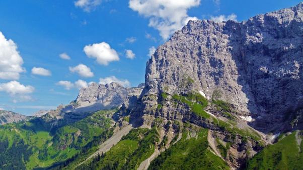 والپیپر اچ دی رشته کوه آلپ