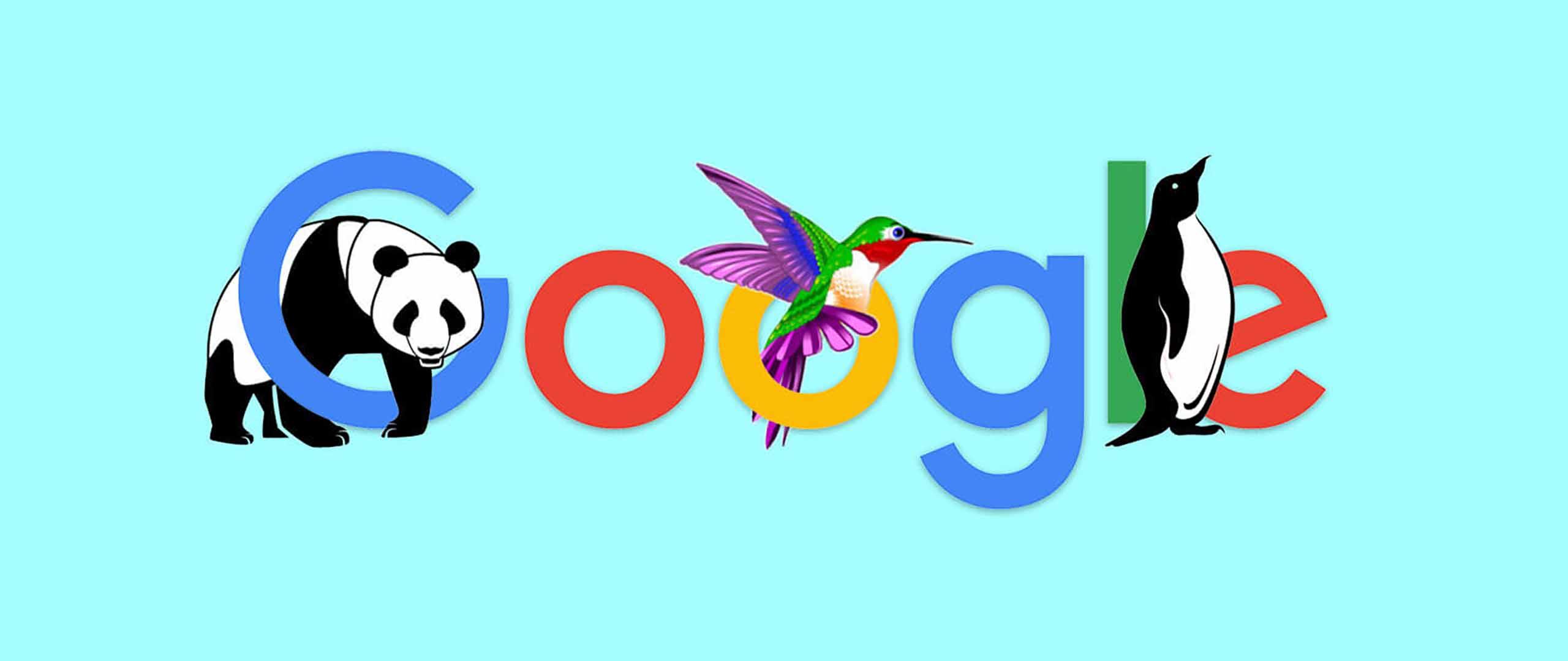 نقش هر یک از الگوریتم های گوگل