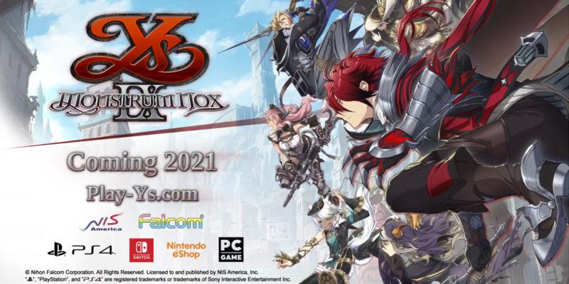 New Game + Expo   تاریخ انتشار Ys IX: Monstrum Nox در غرب با انتشار تریلری مشخص شد