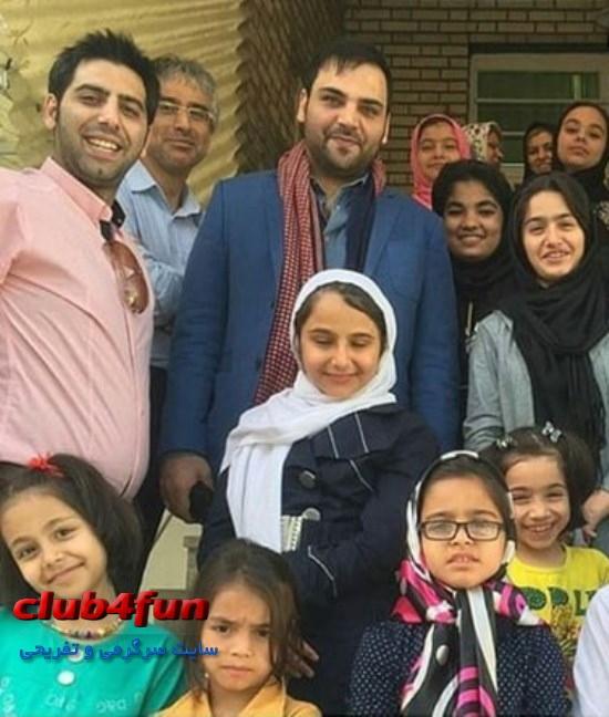 احسان علیخانی در جمع هوادارانش ، احسان علیخانی