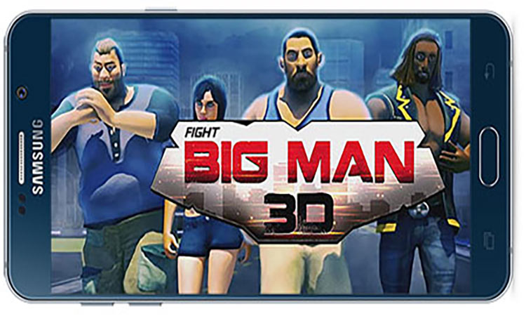 Big Man 3D: Fighting Games