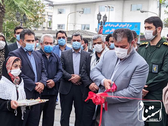 افتتاح نمایشگاه عکس رزمندگان اسلام قائمشهر