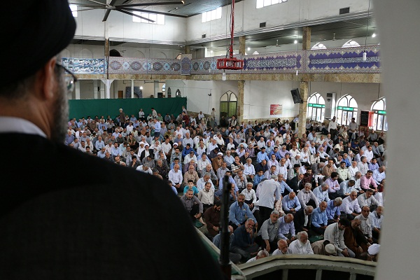 متن خطبه های نمازجمعه 1396/4/16 شهرستان قائم شهر - خطیب : حجت الاسلام حسینی