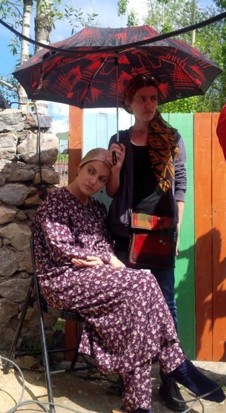 عکس مهناز افشار در فیلمی از تاجیکستان ، مهناز افشار