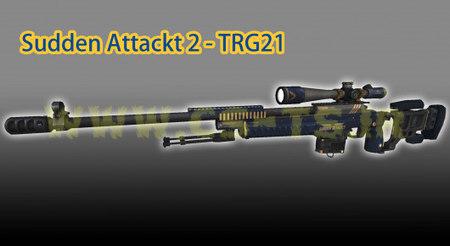 دانلود اسکین زیبای اسلحه ای Sudden Attack 2 - TRG21 برای کانتر سورس