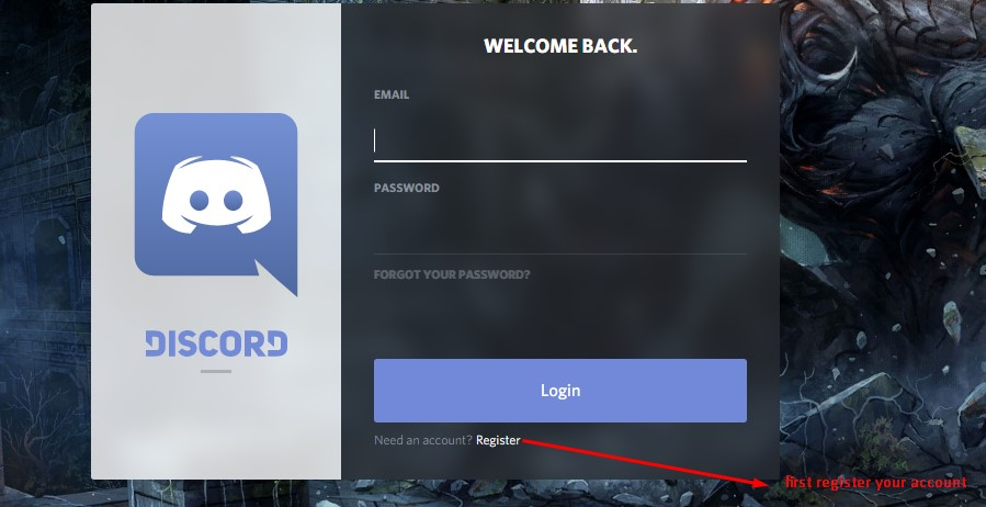 how to find server id discord