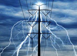 صاعقه - خطوط انتقال - رعد و برق