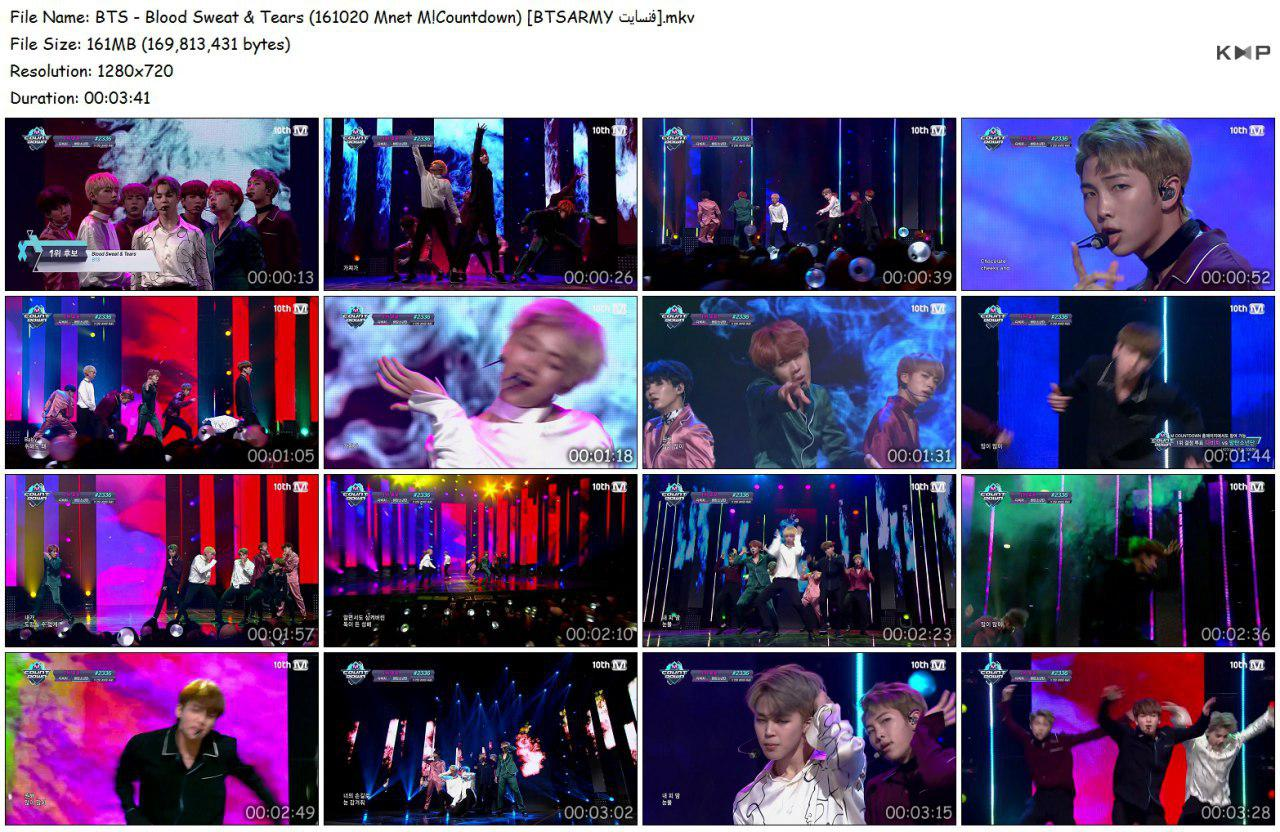 t12j photo 2018 06 16 18 33 05 - Video/Link] BTS Performance Music Show 2nd Full Album 'Wings' Blood Sweat & Tears]