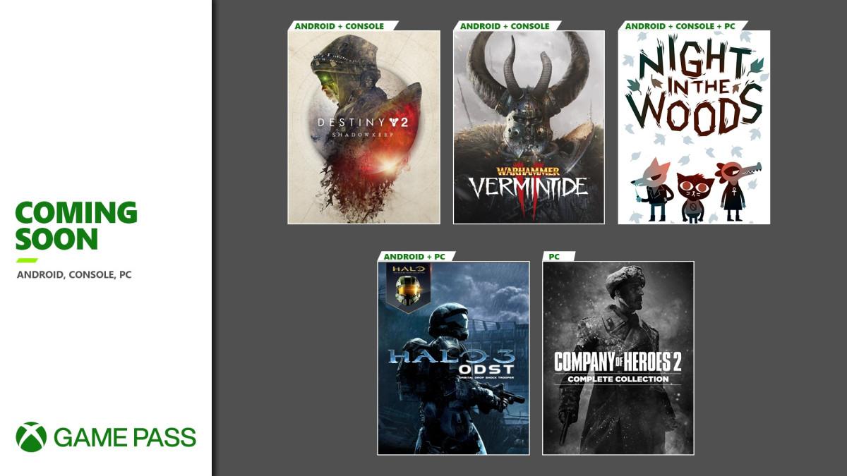 سری دوم عناوین ماه سپتامبر سرویس Xbox Game Pass معرفی شدند