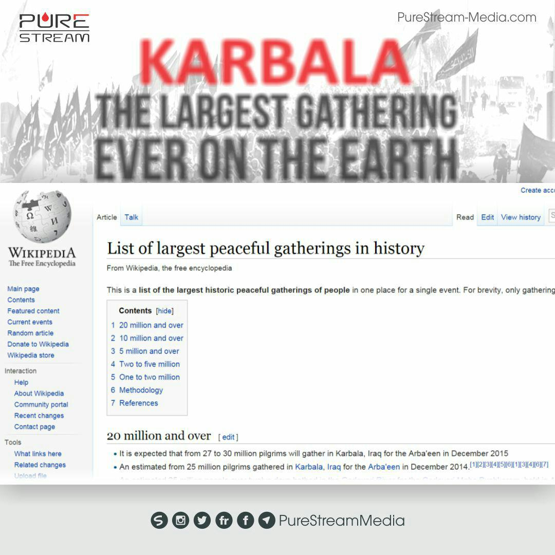 largest gatherings