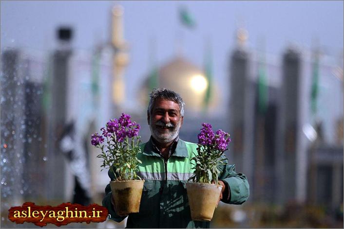 درآستانه نوروز95مشهدالرضاچهره عوض کرد