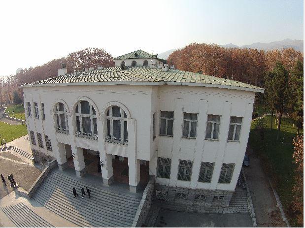 عکس اخذ شده توسط پهپاد - فتوگرامتری برد کوتاه - کاخ سعد آباد