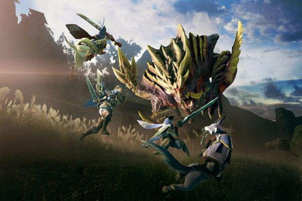 گیمپلی بازی Monster Hunter Rise
