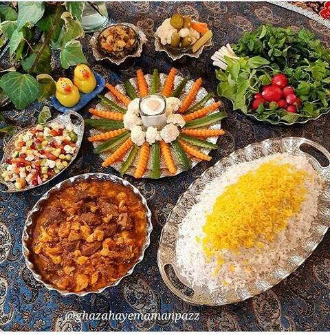 [تصویر: تزیین برنج]