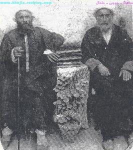 شیخ نعمت الله صالحی             شیخ عبد الوهاب صالحی
