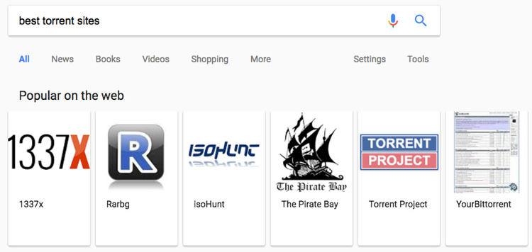 torrents-google
