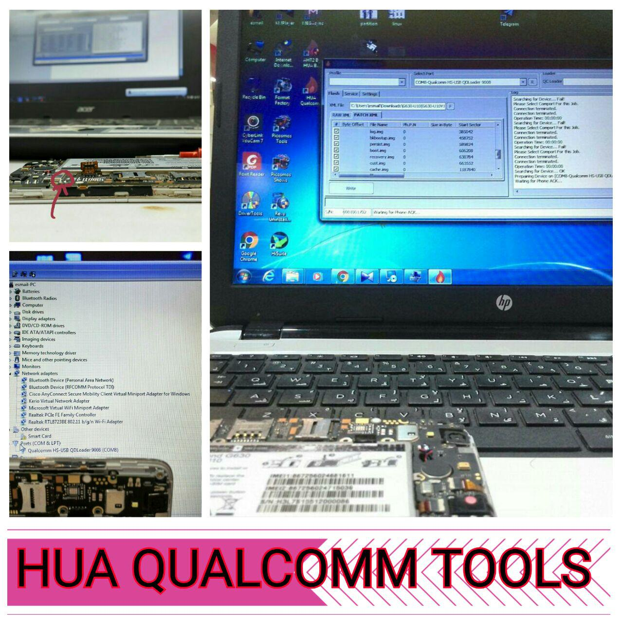 Hua box(Qulacomm tools version 1 0 2)released Free For all Huabox