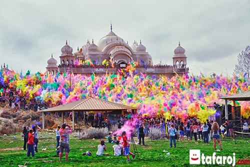 سفر به هند، جشن های هند جشن هولی