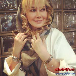 عکس جدید آنا نعمتی با مدل موی جدید