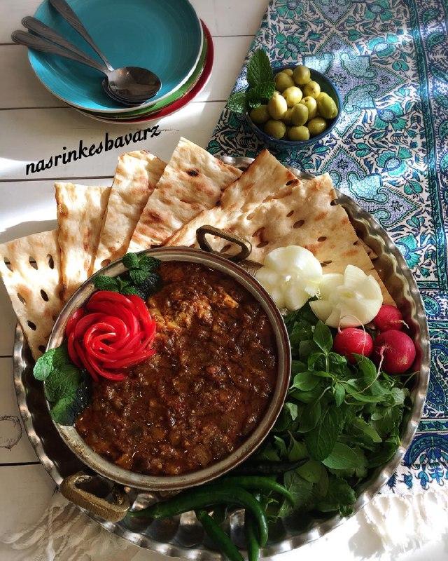 [تصویر: غذاهای سنتی شهرهای مختلف ایران]