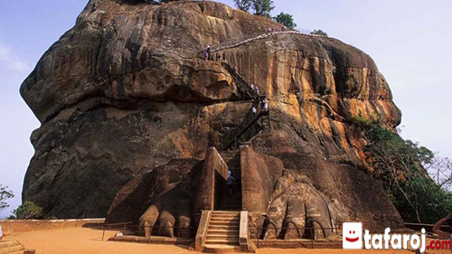 سیگیریا، از جاذبه های گردشگری سریلانکا