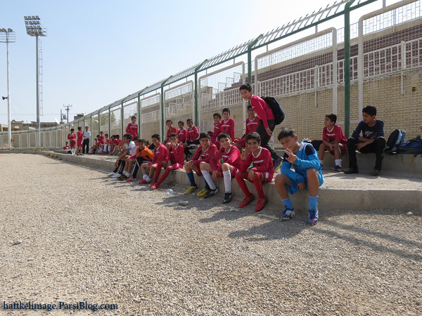 برگزاری جشن میلاد امام رضا (ع) ، مسابقات شنا ، مسابقه مدرسه فوتبال شاهین هفتکل