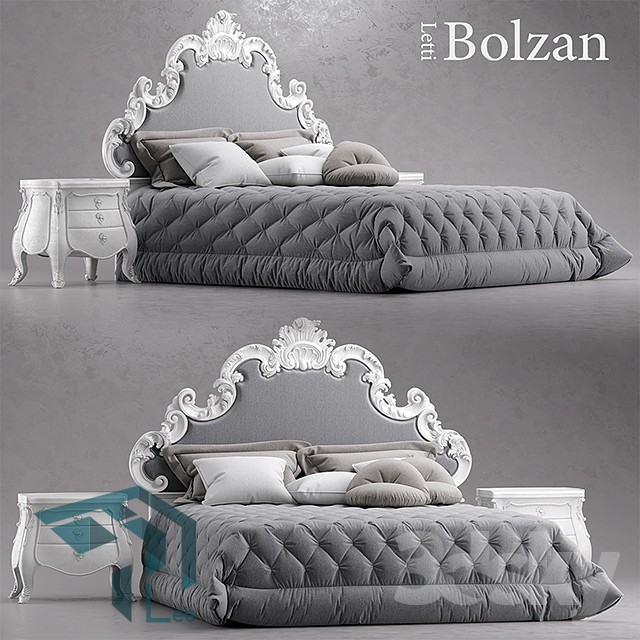 tmhl pro 28 - مجموعه مدل سه بعدی تخت خواب شماره 4