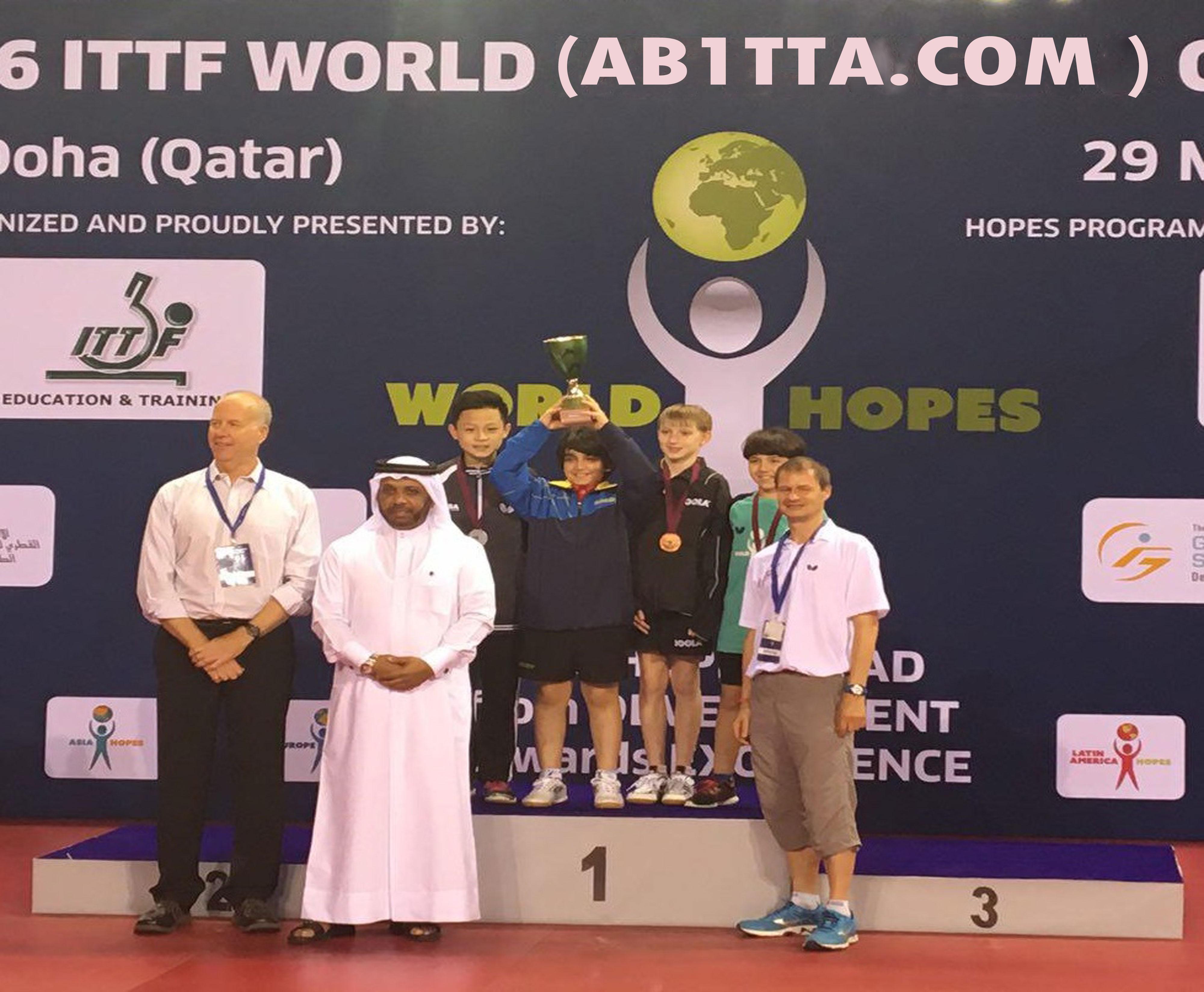 پایان مسابقات طرح هوپس جهانی در دوحه  با قهرمانی نونهال ایرانی