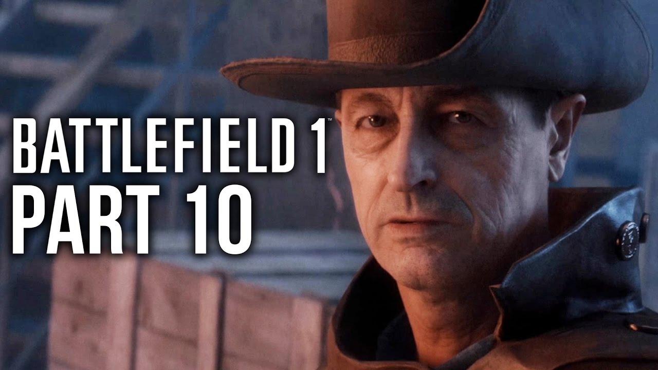 گیم پلی بازی بتلفیلد 1 مرحله 10- Battlefield 1 Gameplay