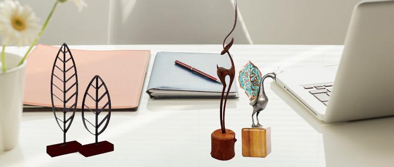 هدایای تبلیغاتی چوب و فلز