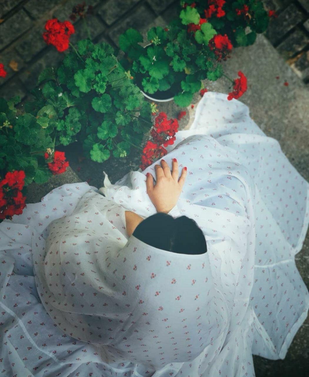 عکس زیبا از دختر چادری