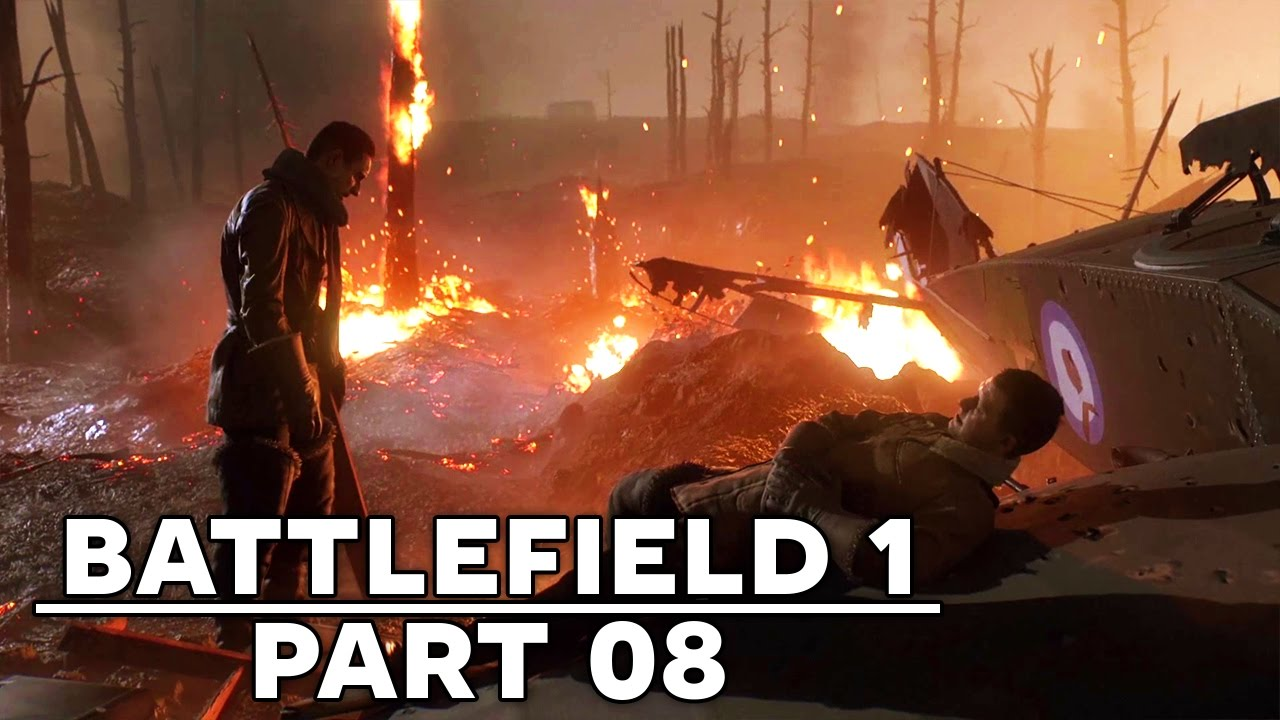گیم پلی بازی بتلفیلد 1 مرحله 8 - Battlefield 1 Gameplay