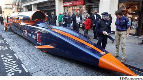 خودرویی سریع تر از فشنگ! + عکس