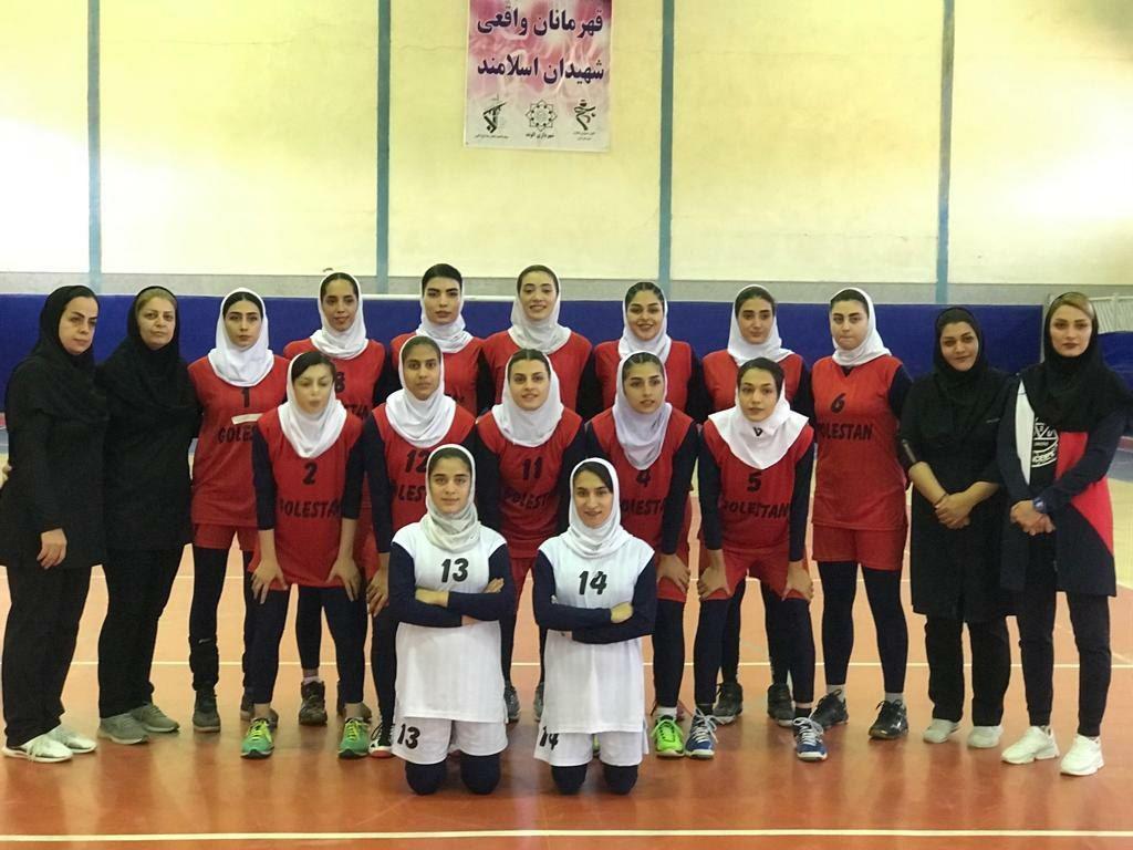 قهرمانی گلستان در مسابقات والیبال امیدهای کشور
