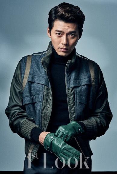 عکس های hyunbin برای مجله 1st look.
