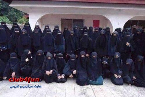 زنان حرمسرای خلیفه داعش