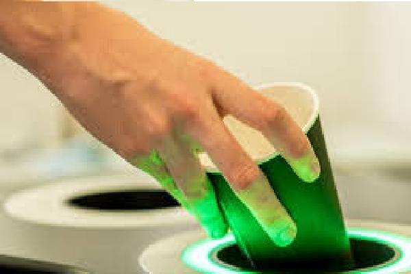 سطل آشغال هوشمند زباله های قابل بازیافت را تشخیص می دهد
