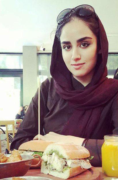 عکسهای جدید هانیه غلامی در خرداد ماه 94