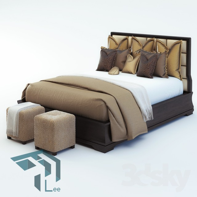 uqbs pro 27 - مجموعه مدل سه بعدی تخت خواب شماره 4