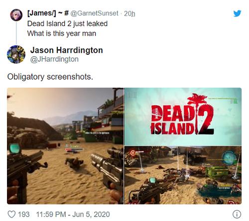تصاویر جدیدی از Dead Island 2 در سطح اینترنت متنشر شده است
