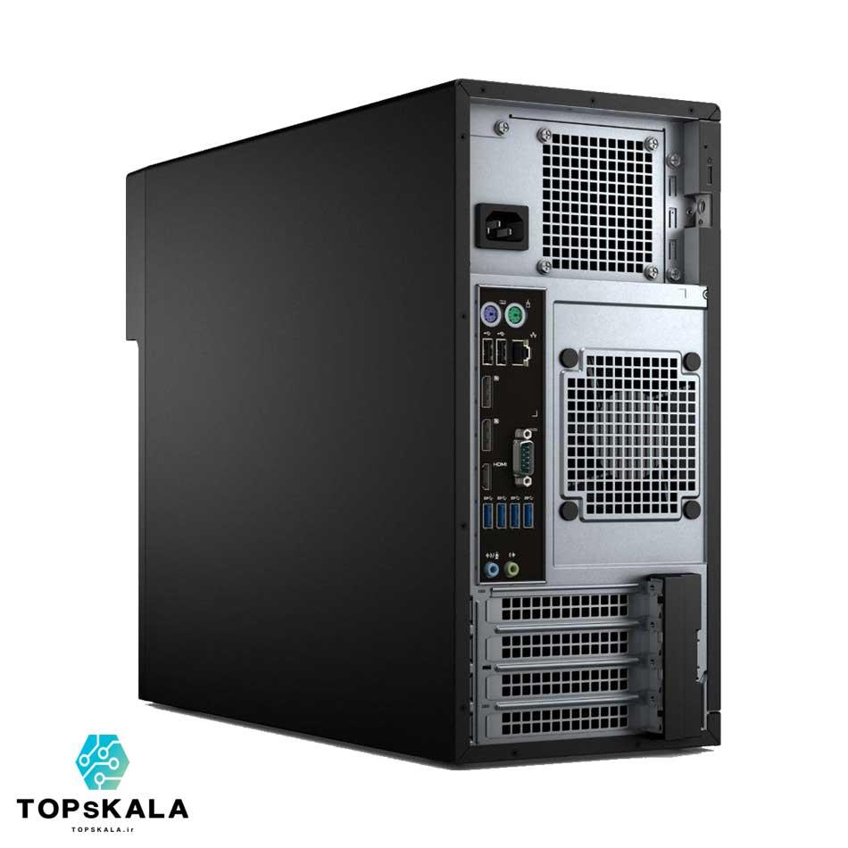 کامپیوتر استوک دل مدل Dell WorkStation T3620 با مشخصات پردازنده Intel Core i7 6700 و گرافیک Nvidia GT 730 دارای مهلت تست و گارانتی رایگان - محصول Dell