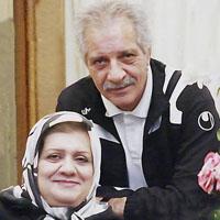 منصور پورحیدری و همسرش فریده شجاعی