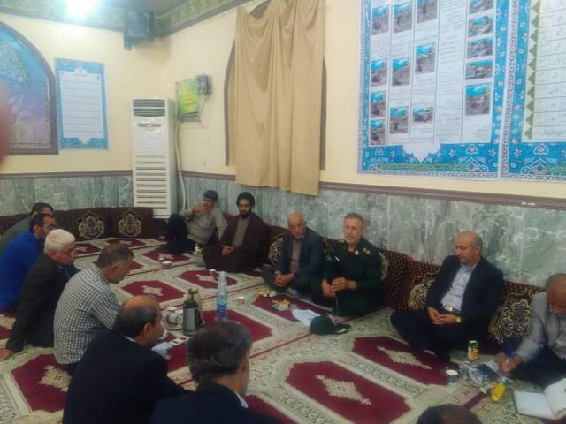 جلسه ی مسجد محور با حضور فرماندهان پایگاه های دشتستان