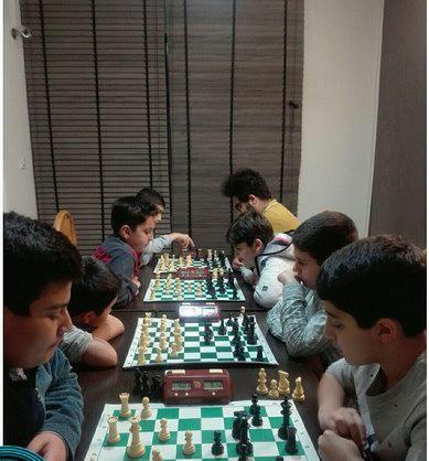 مسابقات هفتگی مدرسه شطرنج ذهن برتر