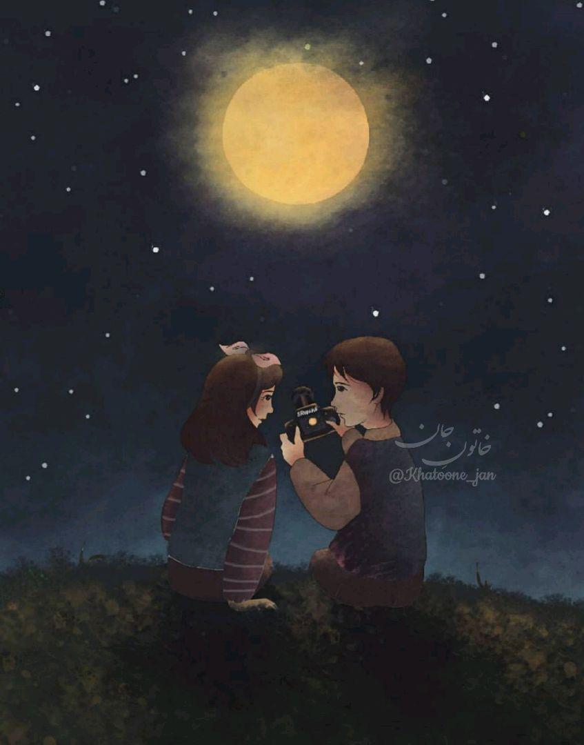نقاشی عاشقانه فانتزی