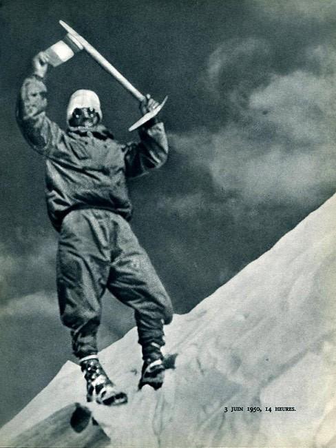 تصویری از اولین صعود موریک هرزبورگ
