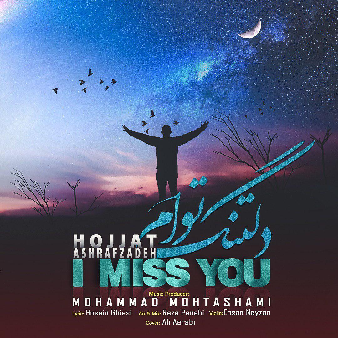 دانلود آهنگ جدید حجت اشرفزاده به نام دلتنگ توام