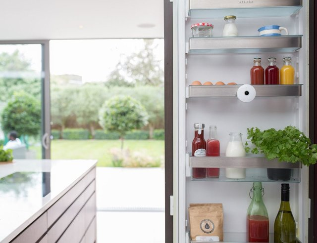 نظارت بر موادغذایی درون یخچال با یک دوربین جدید