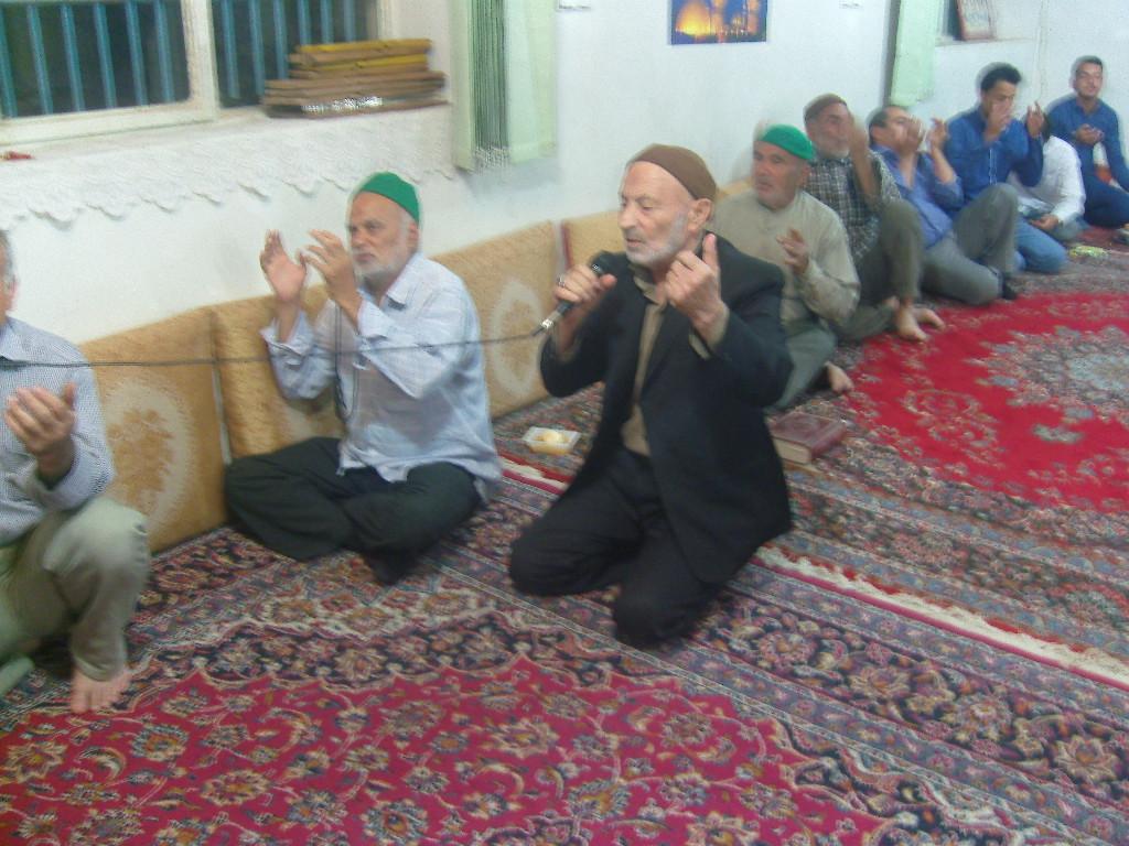جشن و مولودی نیمه شعبان مسجد امیر المومنین روستای کهنه
