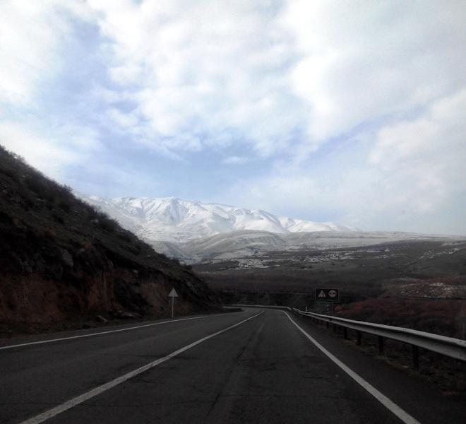 جاده بسیار زیبا اهر مشگین